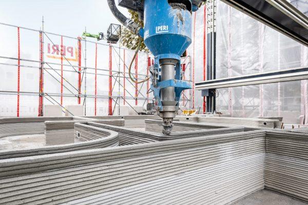 3D-Betondruck, Druckvorgang
