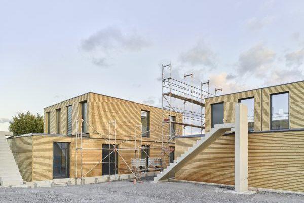 Aktivhaus, geförderter Wohnraum in Kernen
